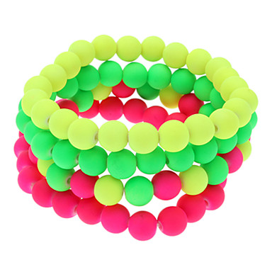 8mm circular fluorescent beads bracelet 725206 2016. Black Bedroom Furniture Sets. Home Design Ideas