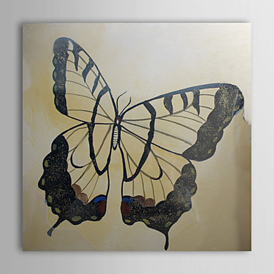 Hand Painted Oil Painting Animal Butterfly with Stretched Frame 1310-AN1035