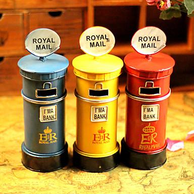 "10""Retro Style Postbox Type Metal Collectible"