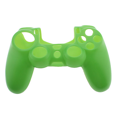 Pure color silicone skin case voor ps4 controller 929649 for Housse manette ps4