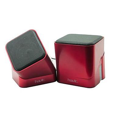 usb 2 0 havit mini haut parleur pour ordinateur utilisation ipad t l phone portable de. Black Bedroom Furniture Sets. Home Design Ideas