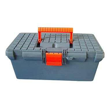 (40*21*18) Plastic Assorted Color Tool Boxes