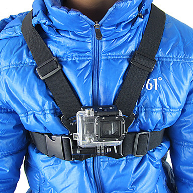 Chest Harness ForGopro 5 Gopro 4 Gopro 4 Session Gopro 4 Silver Gopro 4 Black Gopro 3 Gopro 2 Gopro 3+ Gopro 1 SJ5000 Rollei Action cam