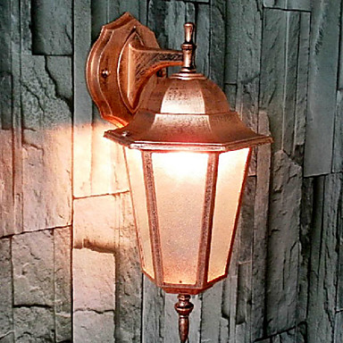 Wall Sconces Under Usd 20 : Outdoor Wall Lights , Traditional/Classic E26/E27 Metal 1233821 2017 USD 20.99