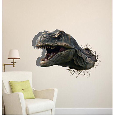 3d the dinosaur wall stickers wall decals 1414968 2017 for Stickers 3d pared