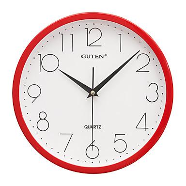 12 h braga art mudo reloj de pared rojo 1356497 2016 - Reloj de pared adhesivo ...