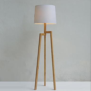 Bois lampadaire tr pied avec abat jour tissu de 1435547 - Lampadaire trepied bois ...