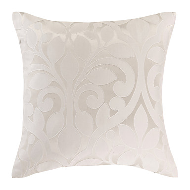 Classic White Polyester Decorative Pillow Cover 1492774