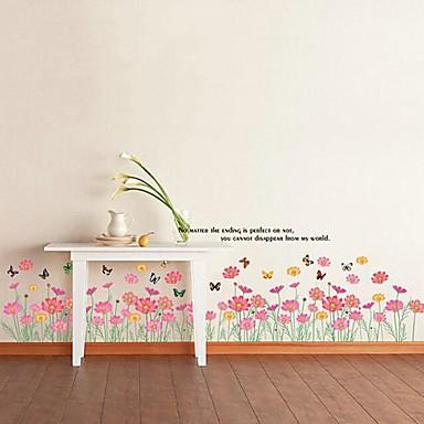 ® farfalle che volano in fiori dei bambini Camera dei bambini ...