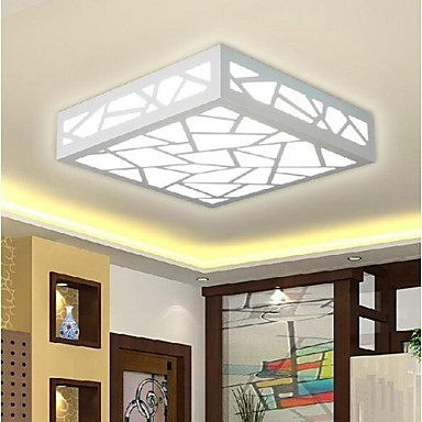 Buy 9 Modern/Contemporary / Traditional/Classic LED Bulb Included Wood/Bamboo Flush MountLiving Room Bedroom Dining Study