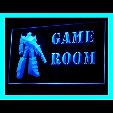 game room advertising led light sign 1644105 2016. Black Bedroom Furniture Sets. Home Design Ideas