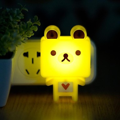 QiDu New Strange with Decorative Wall Stickers American Standard Plug Led Plug-in Electric Small ...