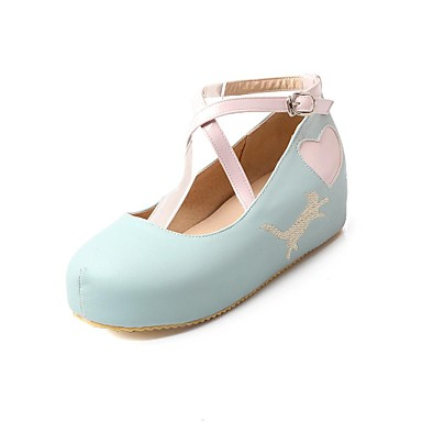 chaussures pour femmes pompes ronde plate forme d 39 orteil chaussures plus de couleurs disponibles. Black Bedroom Furniture Sets. Home Design Ideas
