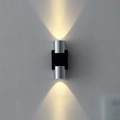 Contemporary Flush Wall Lights : LED Integrated Modern/Contemporary Brushed Feature for LED Flush Mount wall Lights Wall Light ...