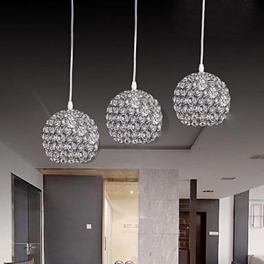 3 lampor lyx modern k9 kristall h ngande ljus 2089748 2017. Black Bedroom Furniture Sets. Home Design Ideas