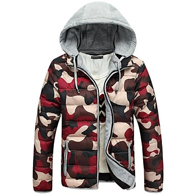Buy Outdoor Men's Tops / Winter Jacket Snowsports Thermal Warm Lightweight Materials Spring Autumn M L XL XXL