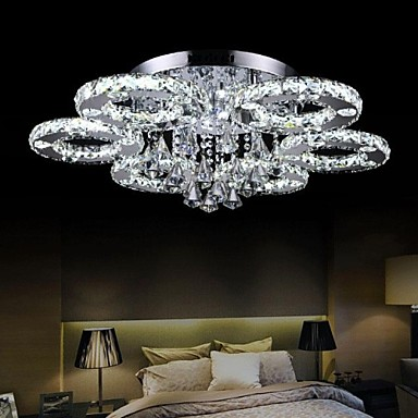 Flush Mount , Modern/Contemporary Chrome Feature for Crystal LED ...
