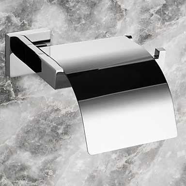Buy PHASAT®,Toilet Paper Holder Stainless Steel Wall Mounted 160 x 145 65 mm (6.3 5.7 2.6 inch) Contemporary