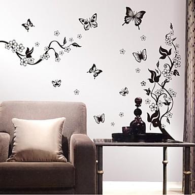 adesivi murali Stickers murali, fiori autoadesivi della parete della casa cit...