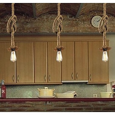 Buy 40W Traditional/Classic / Rustic/Lodge Vintage Country Retro Pendant LightsLiving Room Bedroom Dining Study Room/Office