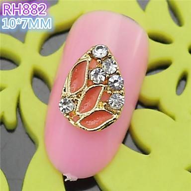 10st rh882 speciale ontwerp luxe strass 3d legering nail art diy nagel schoonheid nagel - Decoratie murale ontwerp salon ...