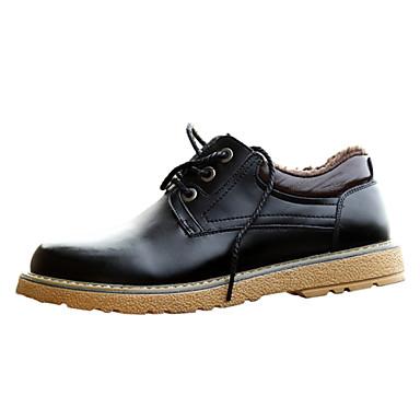 Sapatos Masculinos Oxfords Confortar Couro Calcanhar Flat Shoes Mais Cores Disponu00edveis De ...