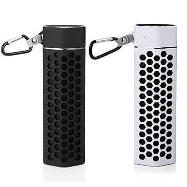 Buy BTS-02 Portable Outdoor Bluetooth Wireless Speaker Metal Buckles Support U-disk TF Card FM