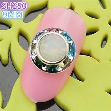 10st sh250 speciale ontwerp luxe strass 3d legering nail art diy nagel schoonheid nagel - Decoratie murale ontwerp salon ...