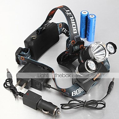Buy Bike Lights LED 4 Mode 4000,5000,5300 Lumens Waterproof / Rechargeable Cree XM-L T6 U2 18650Camping/Hiking/Caving Everyday