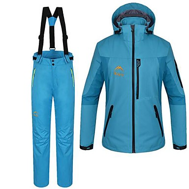 Buy Women's Woman's Jacket / Winter Clothing Sets/Suits Waterproof Thermal Warm BlueS M L XL XXL