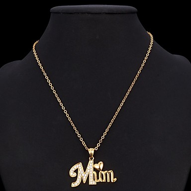 u7 174 name necklace pendant s gift 18k real gold