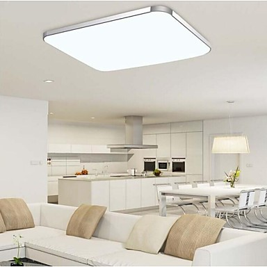 36w Flush Mount Modern Contemporary Electroplated