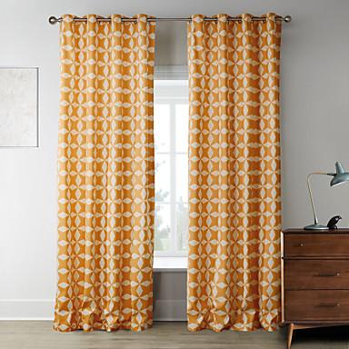 Deux panneaux le traitement de fen tre designer chambre for Decoration fenetre chambre a coucher