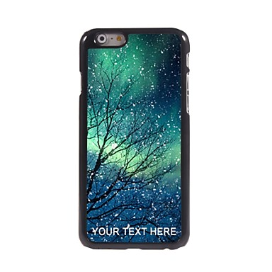 Buy Personalized Phone Case - Snowflake Design Metal iPhone 6