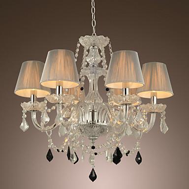 Maximum 60 w chandelier modern contemporary others for Lampadari contemporanei