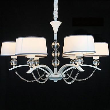 40w lampadari contemporaneo cromo caratteristica for for Lampadari x camera