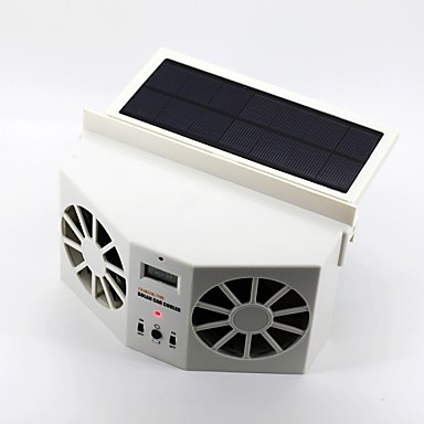 2w solar powered car air vent cooling fan 2882775 2016. Black Bedroom Furniture Sets. Home Design Ideas
