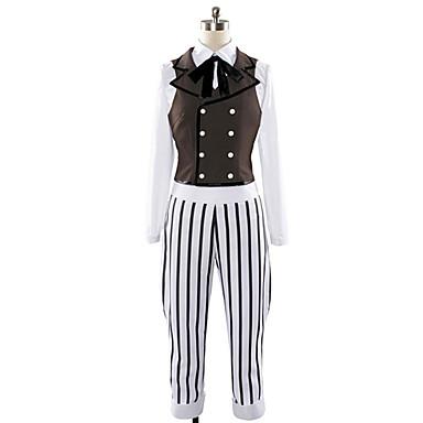 Buy Inspired Uta Prince Sama Ren Jinguuji Video Game Cosplay Costumes Suits Patchwork Yellow Long SleeveVest / Shirt Pants