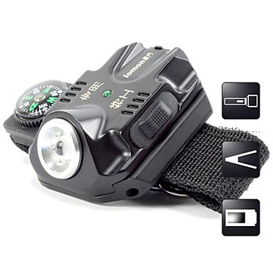 Buy Lights LED Flashlights/Torch 240 Lumens 5 Mode Cree XR-E Q5 / AAA USBAdjustable Focus Waterproof Rechargeable Impact