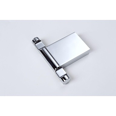 Contemporary Chrome Robe Hooks Bathroom Sqaure Robe Hook ...