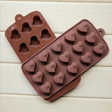 La moda de silicona bricolaje jab n de chocolate jalea - Moldes de silicona para horno ...