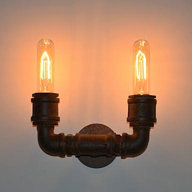 Lampade a candela da parete - Rustico/lodge - DI Metallo - Lampadina inclusa ...