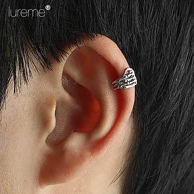 """Lureme®European And American Retro Punk Style Skull Hand Ear Clip&q..."