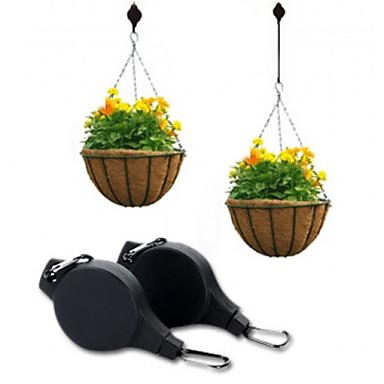 Easy Reach Plant Pulley Hanging Flower Pot Hanger Holder