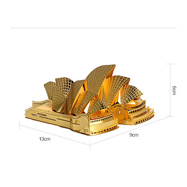 Sydney pera p022 3d est reo rompecabezas de metal modelo - Jugueteria para adultos ...