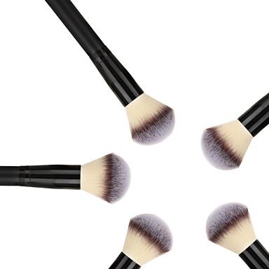 Buy M0250 Elegant Black Wooden Handle Makeup Loose Powder Brush
