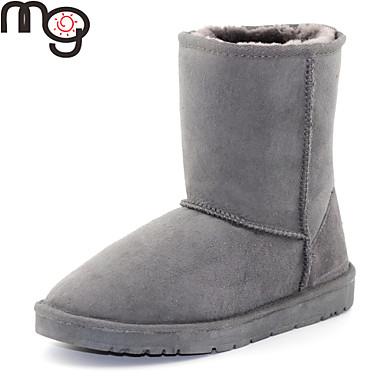 Zapatos de mujer tac n bajo botas de nieve botas - Botas de trabajo ...