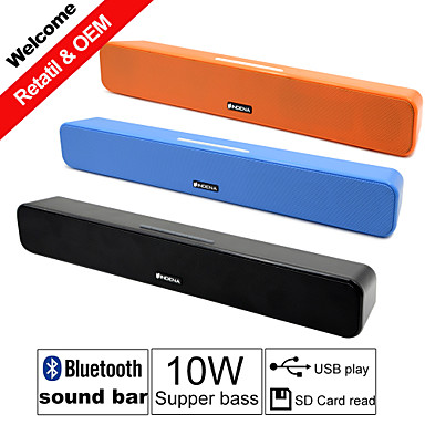 Buy Besteye® G-807P 10W HIFI Portable Sound Bar Speakers FM Aux remote control Stereo Bluetooth Speaks Wireless