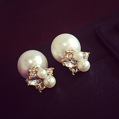 """""""New Arrival Hot Selling High Quality Crystal Pearl Earrings"""""""