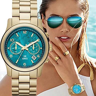 fashion s quartz gold wrist cool